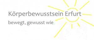Körperbewusstsein – Erfurt Logo